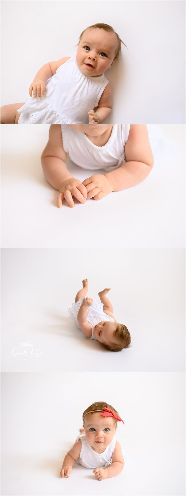 4 month tummy time pictures