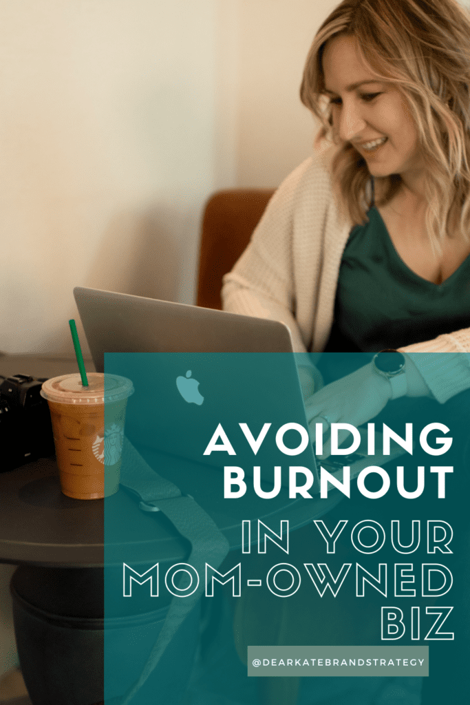 ways to avoid burnout for moms building businesses