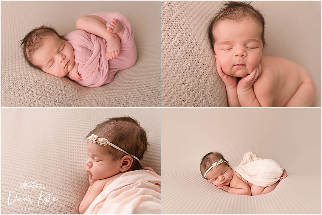 infant girl pictures baby in pink