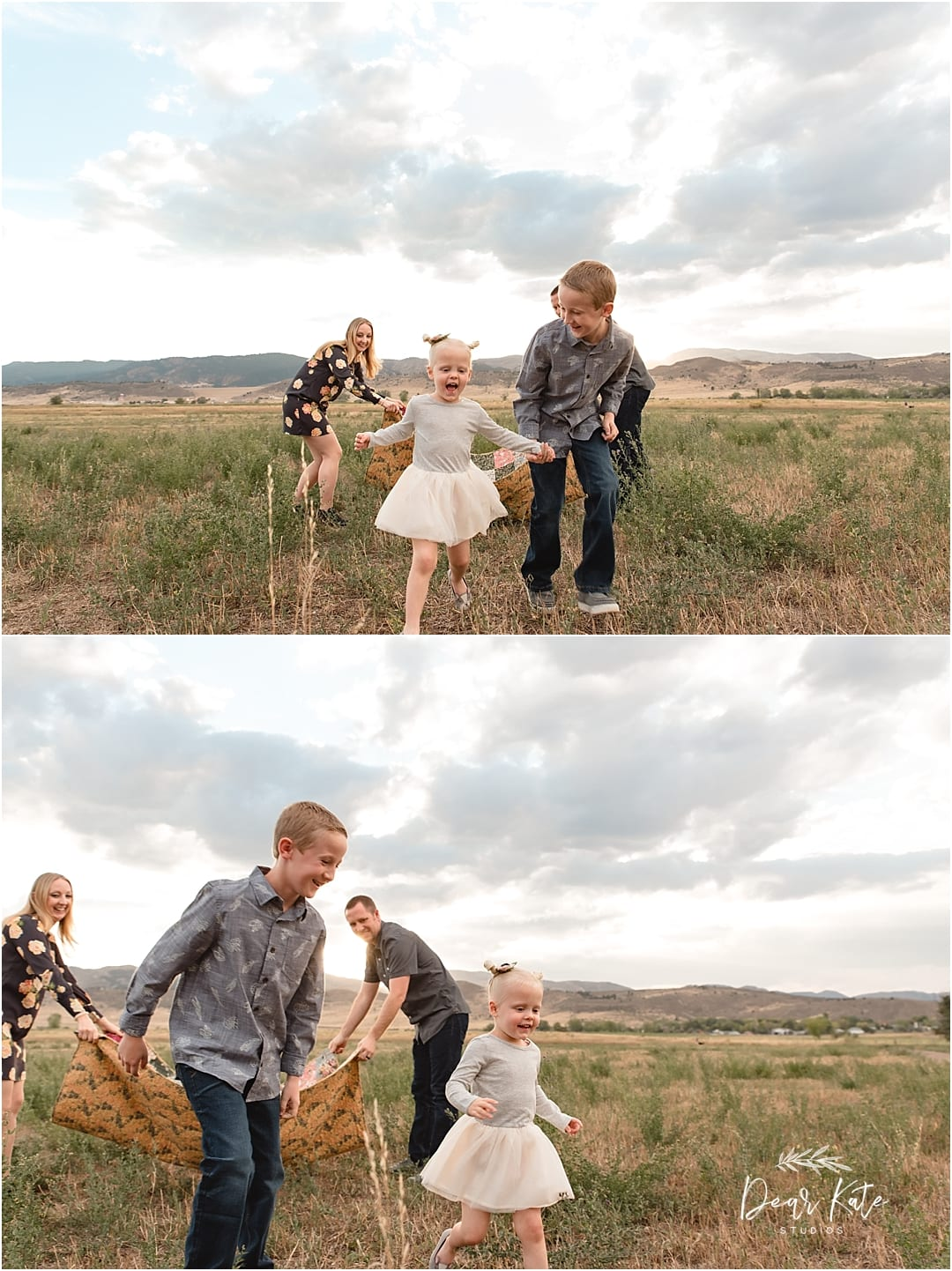 fort collins foothills family pictures