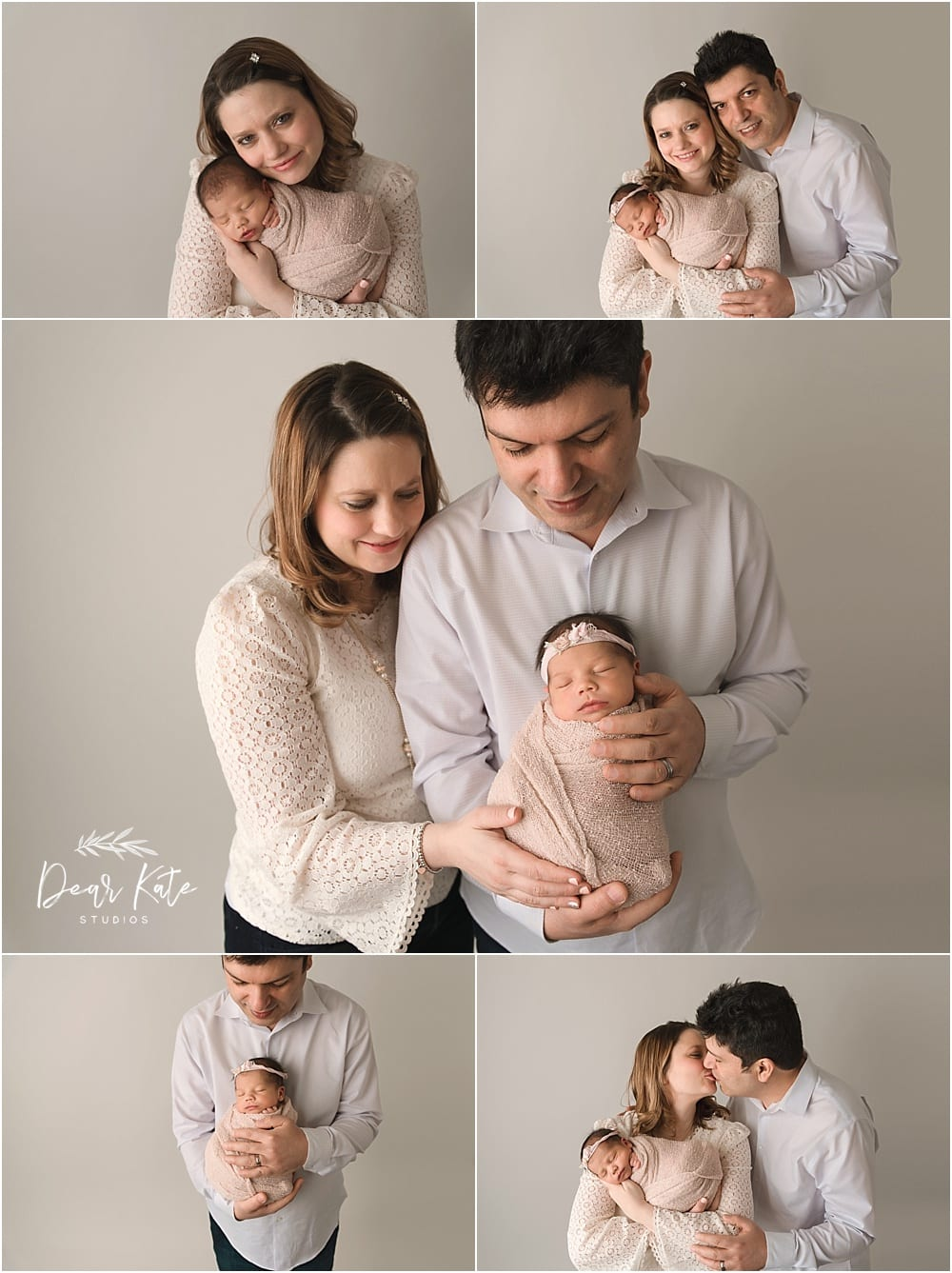 loveland newborn baby with parents family pictures