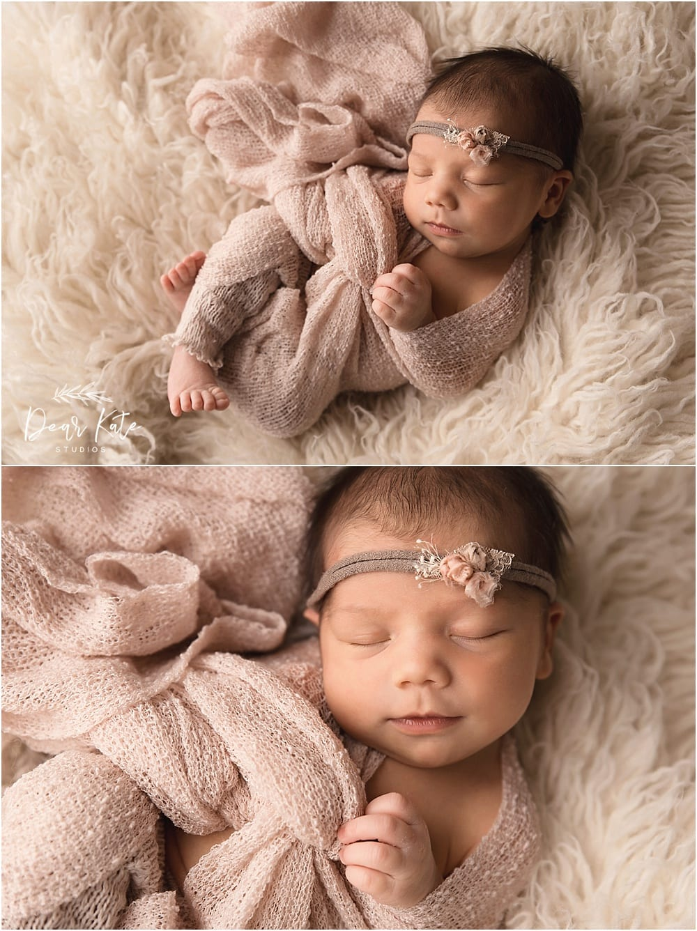 Loveland colorado posed newborn photos
