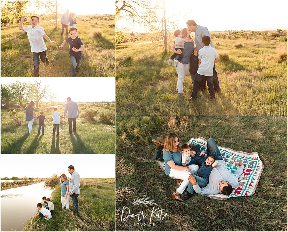 Loveland Family Pictures outdoors