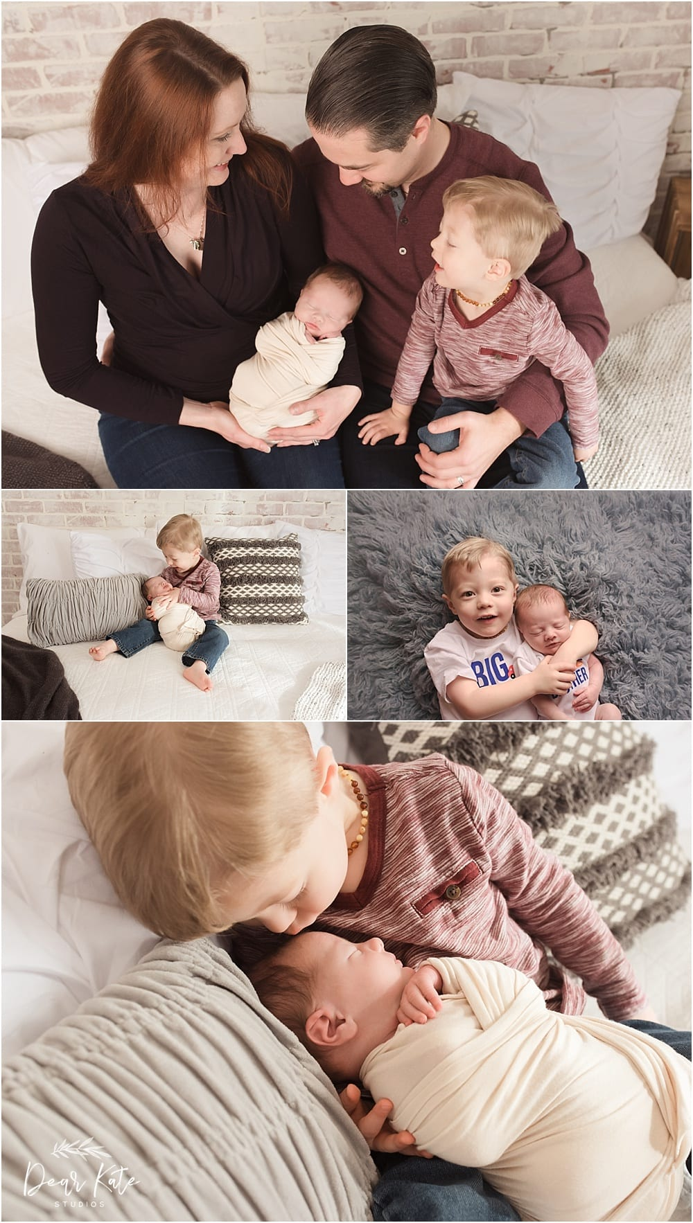 Loveland newborn pictures becoming a family